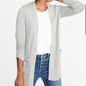 NWOT: Women's 3X Grey Cardigan